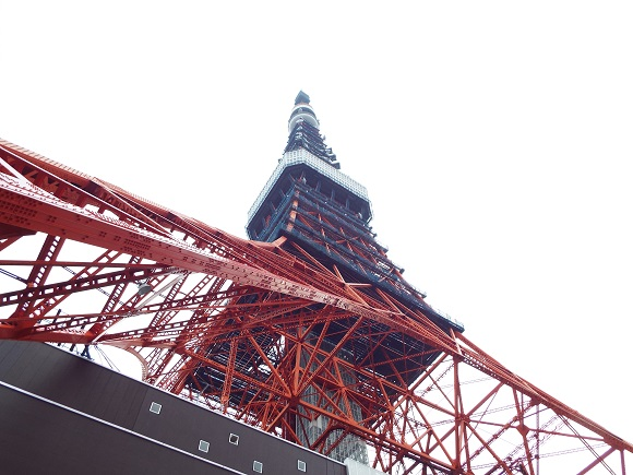 Tokyo Tower elevator grinds to a halt as metal object smashes glass