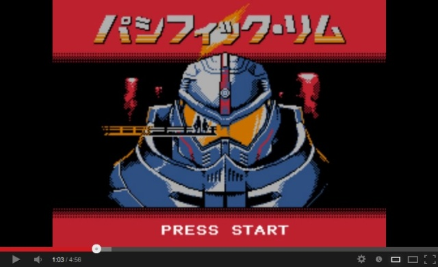 Fan-made intro to 8-bit Pacific Rim game leaves us itching to press start