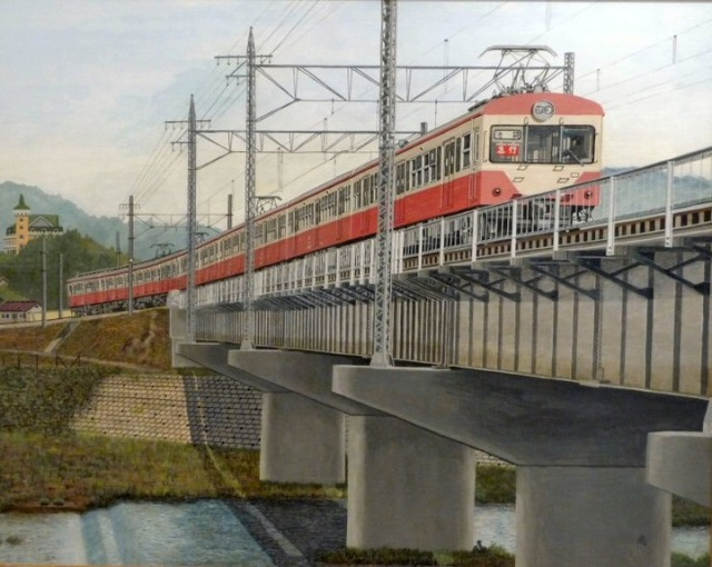 Handicapped man draws beautiful and detailed trains entirely from memory 【Photos】