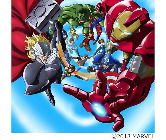 Marvel's mighty Avengers to become an anime