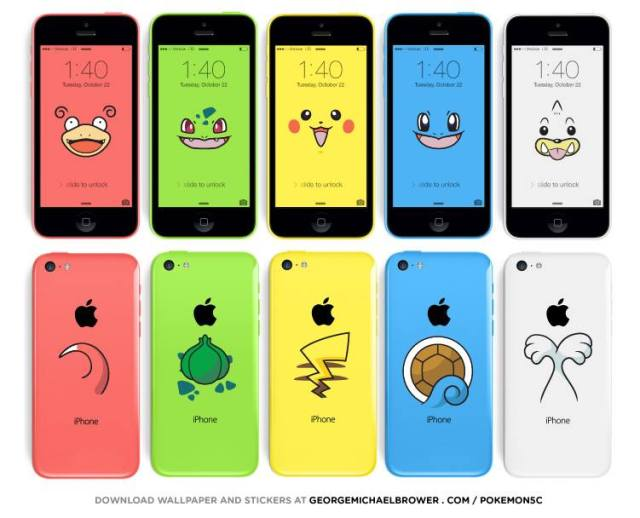 Pokemon smartphones: Why Apple created the colorful iPhone 5c