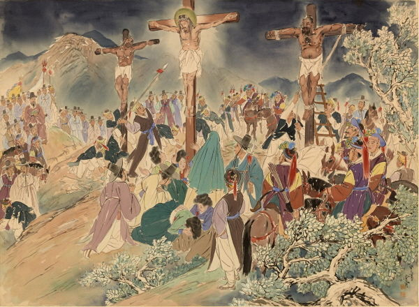 Images depicting the life of Jesus in Korea rile Chinese Internet users