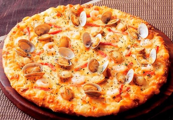 Pizza in Japan