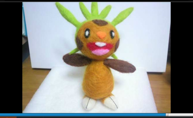 Niconico user makes cute, petable Pokémon with needle-felted plushies 【Videos】
