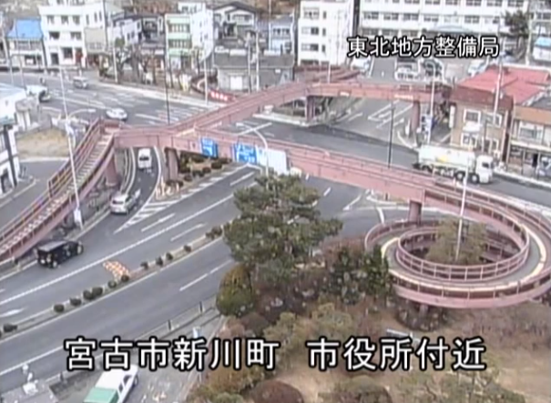 Previously unseen CCTV footage of March 2011 tsunami is intense 【Video】