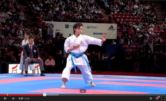 The amazing skills of World Karate Kata Champion Rika Usami 【Videos】