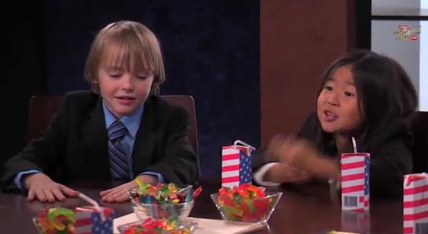 Awkward Jimmy Kimmel segment suggests some kids start being racist jerks at around age six