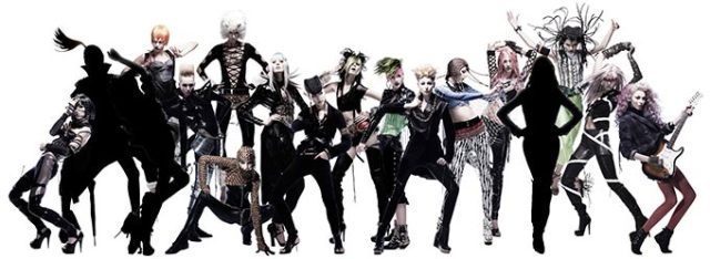 High-fashion photos of JoJo's Bizarre Adventure characters featured at Shisedo event