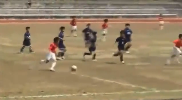 Amazing Japanese grade-schooler enters fast track to playing soccer for Real Madrid 【Videos】