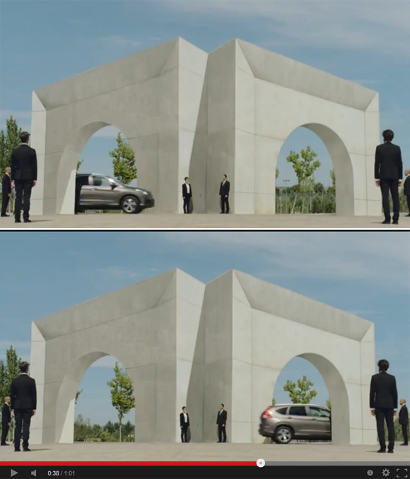 Honda's latest ad packs a lot of cool optical illusions into a single minute