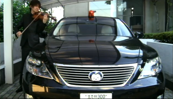 Japanese violinist perfectly mimics patrol car siren, blows our minds