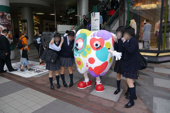 Weird toothpaste mascot is a big hit with women in Japan