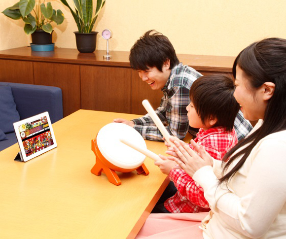 Bluetooth Taiko No Tatsujin controller lets you play properly in the comfort of your own home