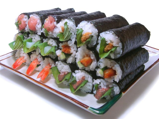 Do you have the guts for sushi?