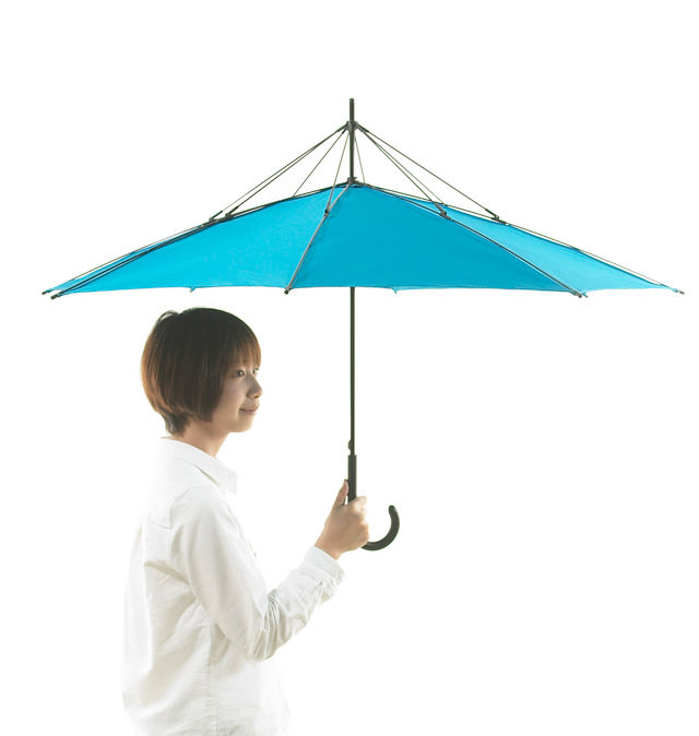 "Japanese company hopes to reinvent the umbrella with ""Unbrella"""