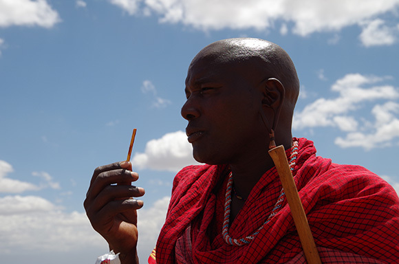 We celebrate Pocky Day by sharing Japanese candy with the Maasai people of Kenya
