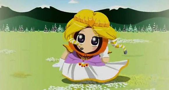 """South Park's anime-style """"Princess Kenny"""" video arrives in Japan, chuckles and confusion abound"""