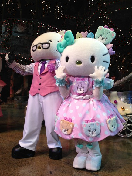 Hello Kitty works hard on her birthday — and expected to be busier than ever in the coming year!