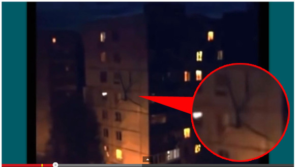 """Video shows """"mutant"""" crawling on the side of a building in Russia"""