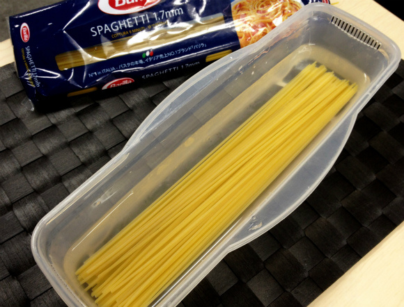 "How to easily turn your dry pasta into ""fresh"" noodles"