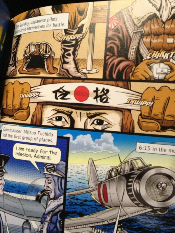 """Good luck with the exam!"" US comic depicting Japanese WWII pilot met with chuckles in Japan"