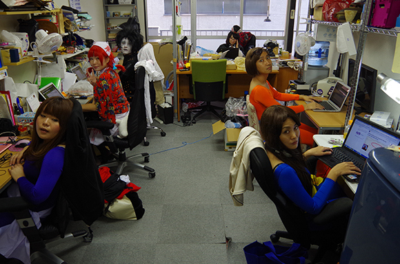 Halloween cosplay at the Pouch/RocketNews24 Japan offices – 2013 edition