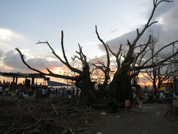 Visiting Leyte and sleeping with the disaster survivors
