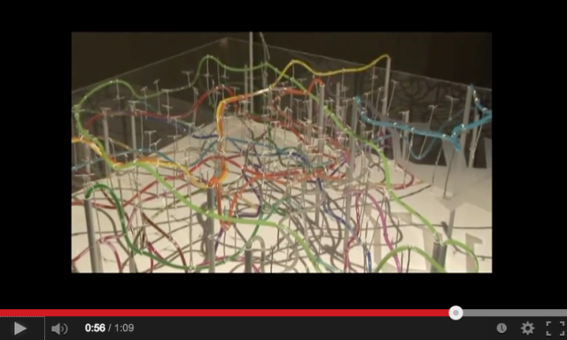 Behold: Tokyo's labrynthine subway map in 3-D form!