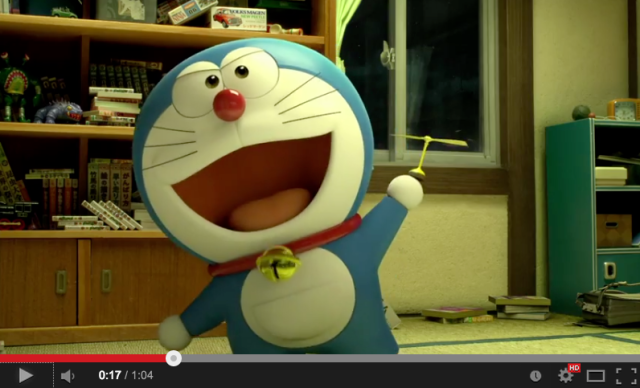 """Doreamon get his first ever CG overhaul in upcoming movie, """"Stand By Me: Doraemon"""""""