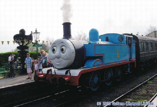 Thomas the Tank Engine locomotive coming to Japan in 2014!