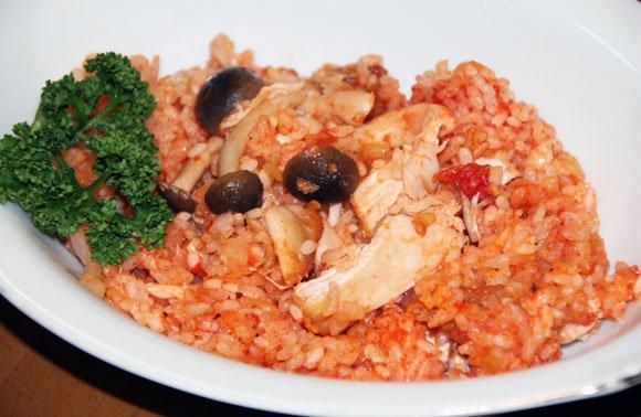 Super easy rice cooker recipe: KFC rice!