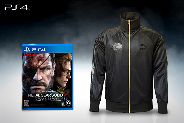 MGS game and jacket