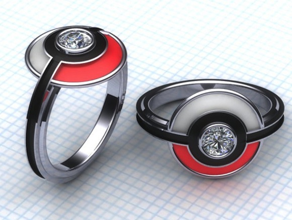 Gotta catch a spouse! Pokémon engagement rings