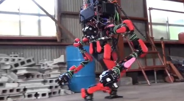 Awesome Japanese rescue robot probably won't kill you