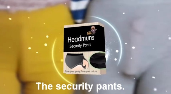 Sexy Banned Commercial Headmuns Security Pants   YouTube(5)