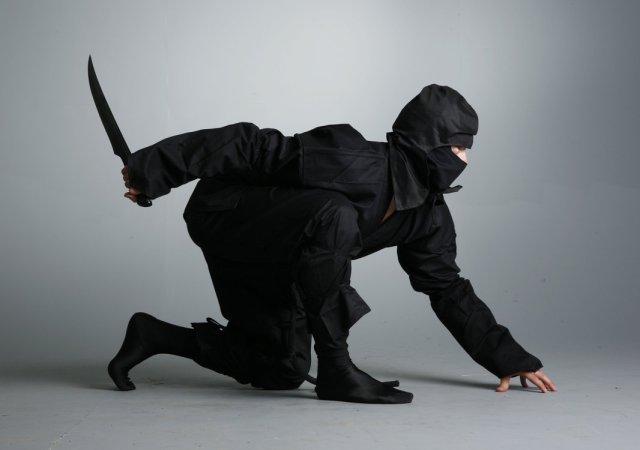 3 larger-than-life ninja tales