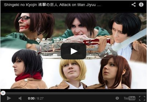 Epic win for live-action Attack on Titan video made by German fans【Video】