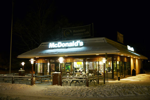 Where Santa Claus buys his burgers: the world's northernmost McDonald's