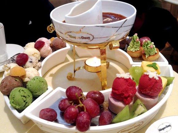 "Our reporter tries ""Häagen-Dazs Ice Cream Hot Pot"" in China"
