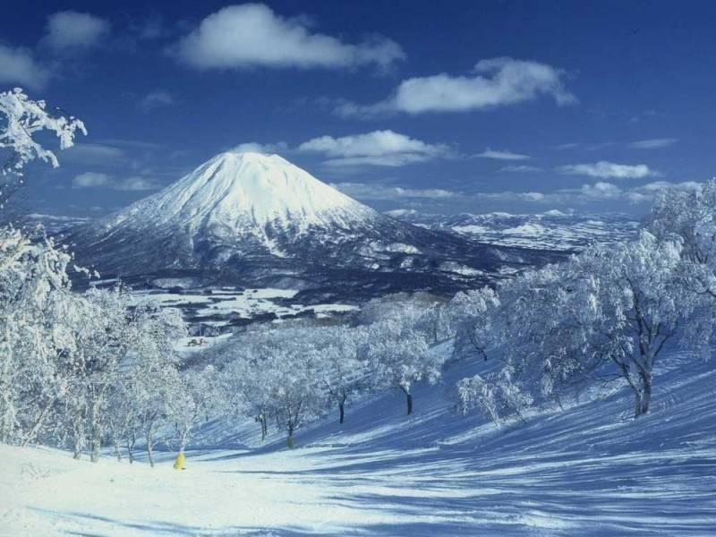 japan snow