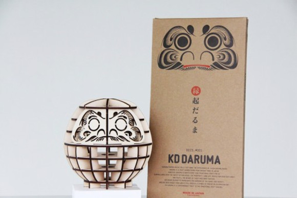 Unusual flat-pack daruma voted Japan's most fascinating souvenir