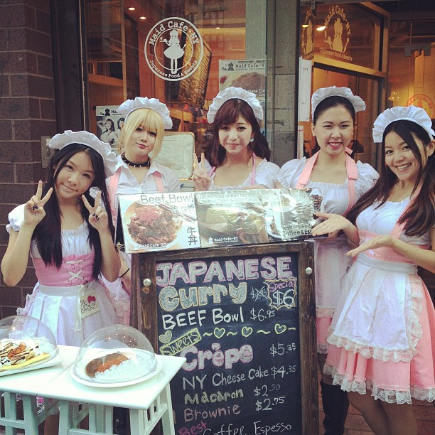 A look at New York's first maid cafe