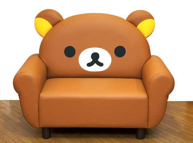 This Rilakkuma-themed sofa is soft on your bottom, hard on your wallet