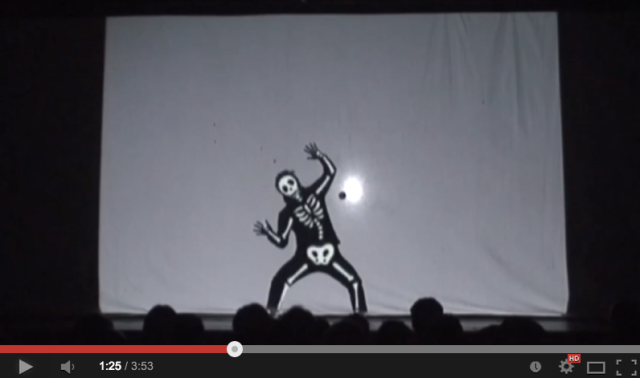 Lights! Shadows! Action!! 3 awesome videos from Japanese performance troupe Shiro-A