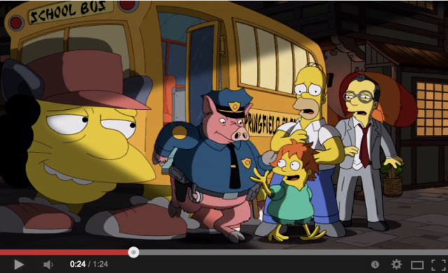 We can't get enough of The Simpsons' tribute to Hayao Miyazaki and Studio Ghibli