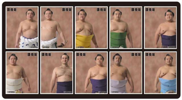Special photo booths let you pose with sumo wrestlers without having to strap on a loincloth