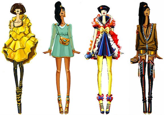 Russian designer turns Disney outfits into stunning haute couture!
