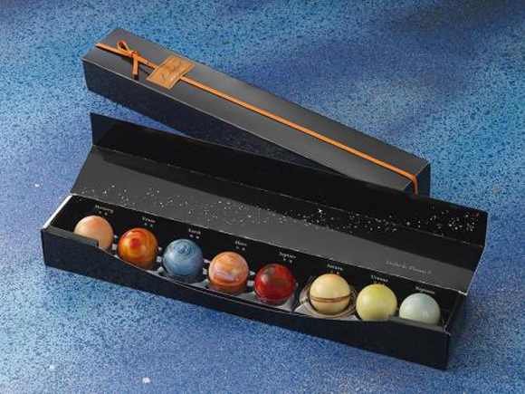 This Valentine's Day make the planets align with a set of celestial chocolates