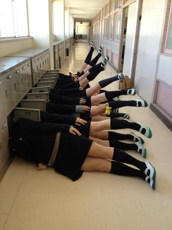 15 Japanese students who are really nailing this high school thing4