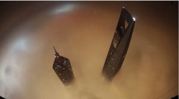 Russian climbers break into and scale the world's second tallest building, Shanghai Tower